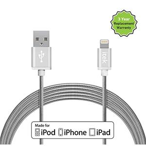 Itek 8 Pin Lightning to USB Indestructible Cable