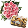 Pink Roses & Chocolates